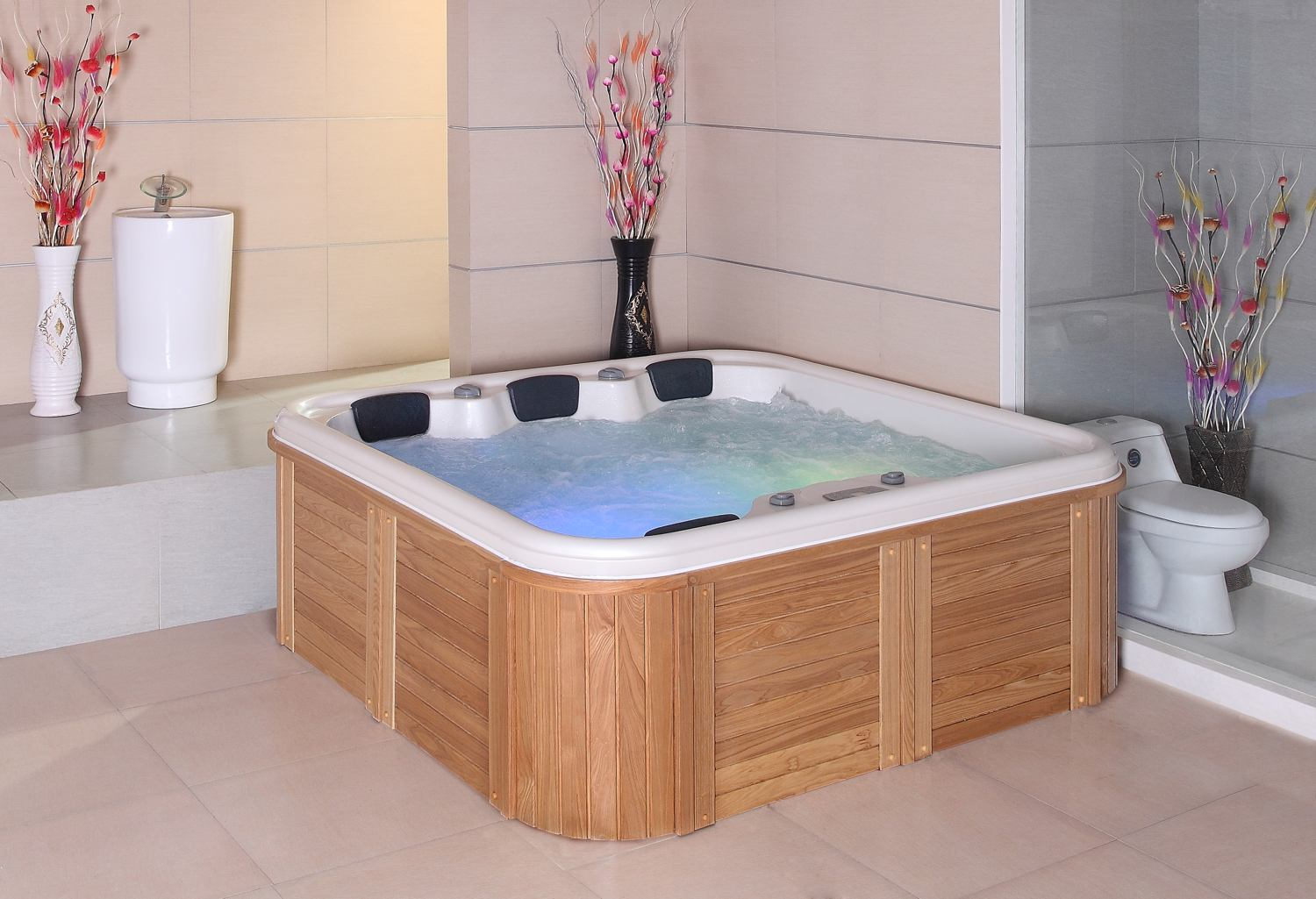 spa jacuzzi para exterior modelo at