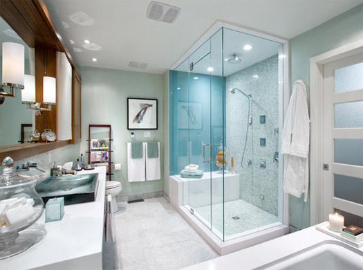 Elección de cabina de hidromasaje y decoración del cuarto de baño ...