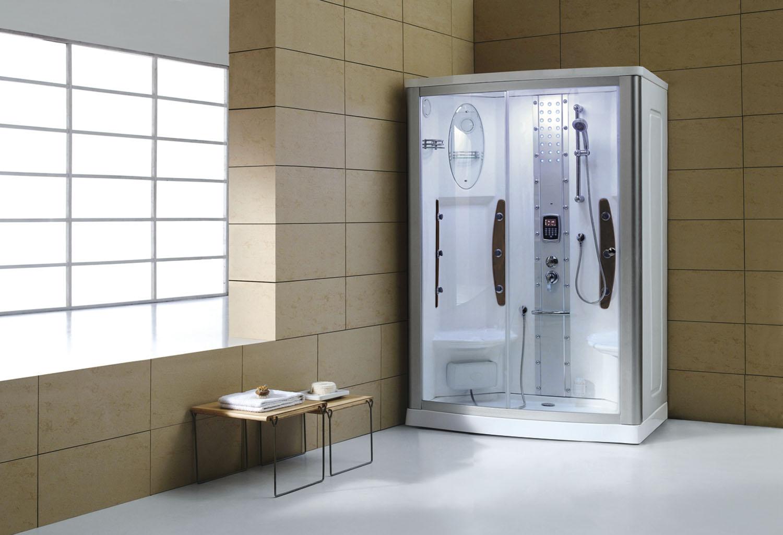 Blog del hidromasaje c mo instalar una cabina de - Cabinas de ducha rectangulares ...
